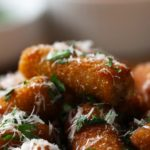 Stuffed Rigatoni Poppers