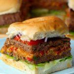 Sheet Pan Stuffed Burger Sliders