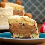 Cookie Dough Layered 'Box' Cake