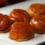 Upside Down Apple Caramel Muffins