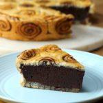 Chocolate Swirl Pie