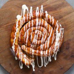 Garlic Prawn Bruschetta Pasta