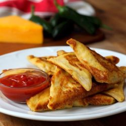 Chicken Fajita Slab Pie