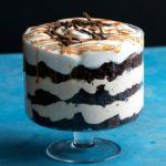 Salted Caramel Brownie Trifle