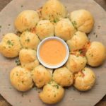 Cheesy Pull-Apart Bread With Tomato Soup Fondue
