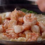 Lemony Shrimp Scampi with Orzo and Arugula