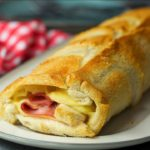 Giant Croque Monsieur Roll