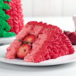 Strawberry Surprise Cake