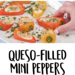 Queso-Filled Mini Peppers Recipe