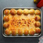 Cheeseburger Dough Ball Dip Tray