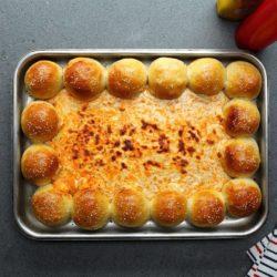 Garlic Bread With Shredded Beef