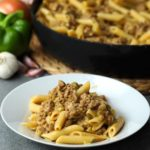 Sloppy Joe Cheesesteak Pasta