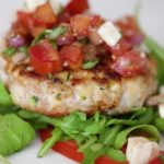 NAKED TURKEY BRUSCHETTA BURGERS