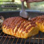 Grilled Chorizo-Stuffed Hasselback Pineapple