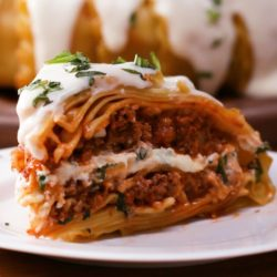 Meatball Stuffed Shell Pasta