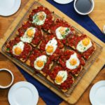 Sheet-Pan Shakshuka Toast