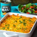Cheesy Heinz Beanz Potato Lasagna