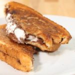 Grilled Nutella Marshmallow Sandwich