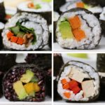 Veggie Sushi 4 Ways