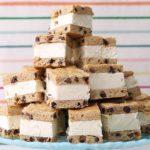 Chocolate Chip Cookie Ice-Cream Sandwiches