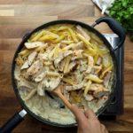 Chicken Mushroom Ranch Penne