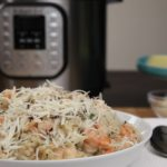 Instant Pot Asiago Shrimp Risotto