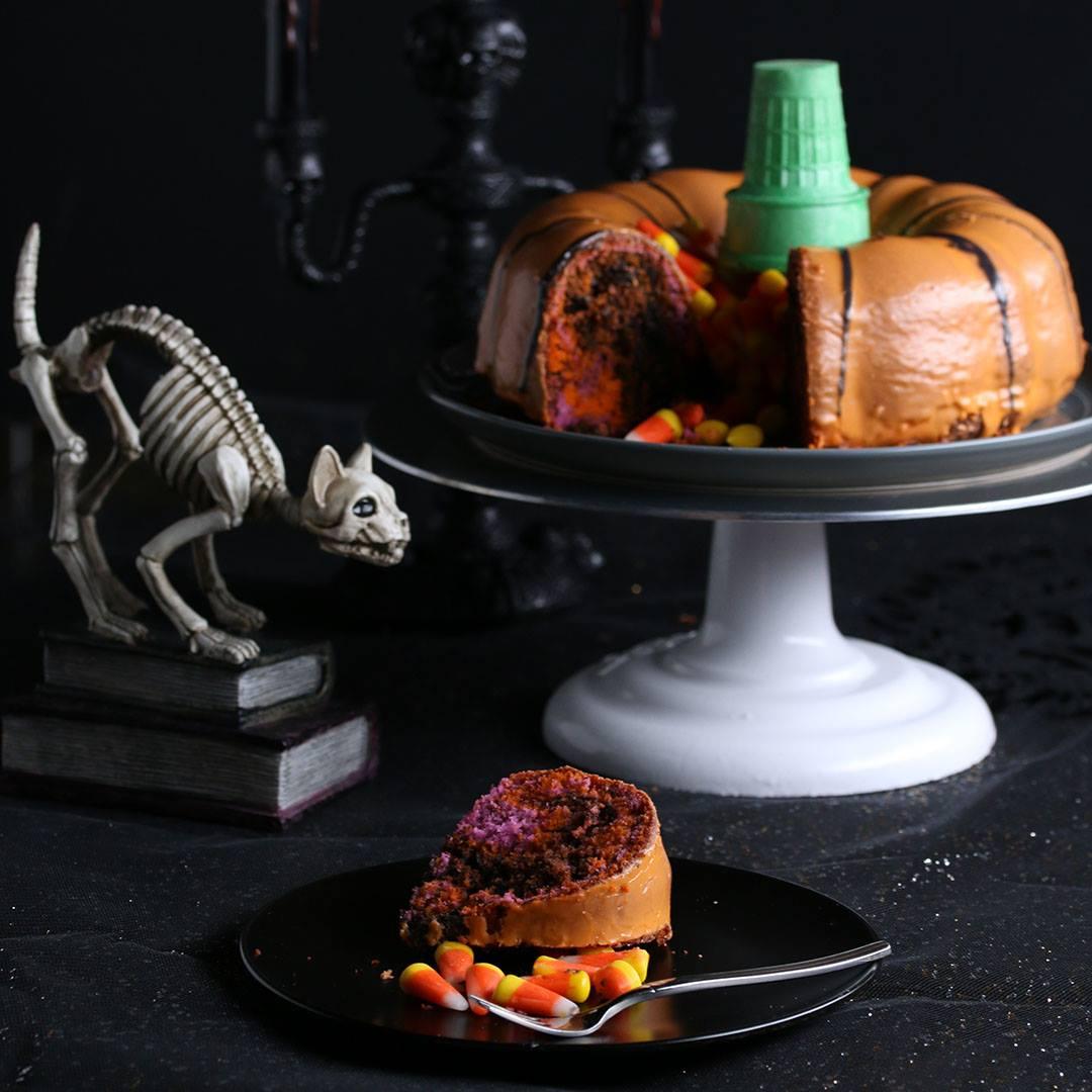 halloween bundt cake - cooking tv recipes
