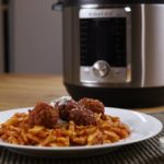 Instant Pot Pasta and Meatballs