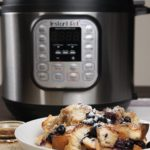 Instant Pot Blueberry Almond French Toast Casserole