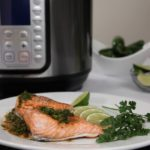 Instant Pot Chili Lime Salmon