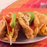 Double Crunch Fried Chicken Tacos