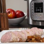 Instant Pot Balsamic Apple Pork Tenderloin