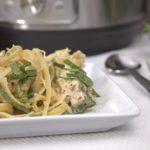 Instant Pot Chicken Fettuccini Alfredo