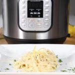 Instant Pot Parmesan Lemon Pasta