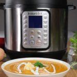 Instant Pot Apple Butternut Squash Soup