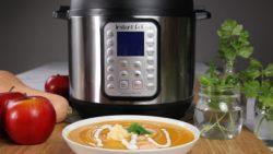 Instant Pot Southwestern Shrimp Soup