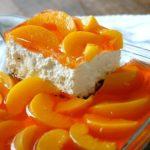 Peach Pretzel Salad