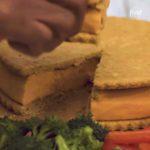 Giant Cheese-Stuffed Cracker