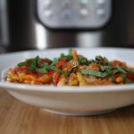 Instant Pot Pizza Pasta Casserole