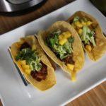Instant Pot Mango BBQ Fish Tacos