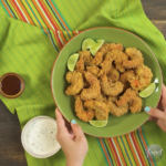 Chipotle Tortilla Chip-Crusted Shrimp