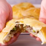 Philly Cheesesteak Biscuit Bombs