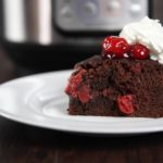 Instant Pot Cherry Chocolate Pudding Cake