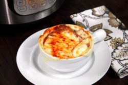 Instant Pot Garlic Parmesan Mac and Cheese