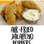 Air-Fried Jalapeño Poppers