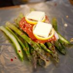 Instant Pot Spicy Garlic Salmon and Asparagus