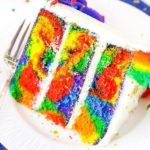 RAINBOW SWIRL CAKE