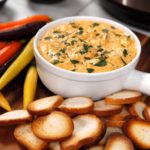 Instant Pot Buffalo Ranch Chicken Dip