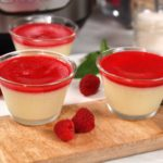 Instant Pot White Chocolate Raspberry Pots de Creme