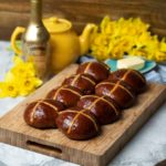 Baileys Chocolate Hot Cross Buns